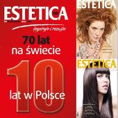 Wyróżnienie dla stylistów Studia Fryzur Gabriella z okazji 10 lecia kwartalnika Estetica
